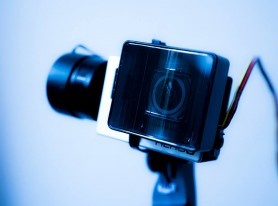 Using a custom GoPro on a gimbal