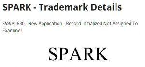 DJI SPARK Trademark
